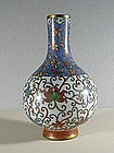 A Chinese Cloisonne Vase, 19C.