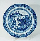 Chinese Export Plate, Qianlong, 18thC.
