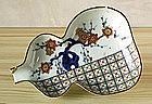 An Early Ko-Imari Dish, 1640~1650.