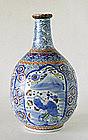A Japanese Arita Porcelain Tokkuri, Early 19th Century.