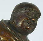 Large Chinese Bamboo Carving, Qing, 19thC.