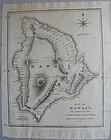 Map of Hawaii 1826 - Ellis - Fisher/Jackson - London