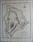 Map of Hawaii 1826 - Ellis - Fisher/Jackson - London