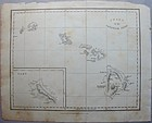 Chart of the Sandwich Isles 1826 -  Wlm Ellis London