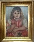 Charming Portrait Girl with Doll - Leop Fritz - Munchen