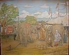 REYNOLDS BEAL Sells Floto-Sparks Circus 1929