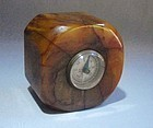 Butterscotch Catalin or Bakelite Compass Paperweight