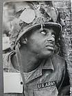 Original Vietnam UPI Photo - Kyoichi Sawada -  US Soldier 1966