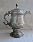 Large Indo-Persian Tinned Copper Samovar - Kashmir 19th Century