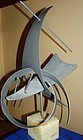 "CURTIS JERE 30"" Modernist Abstract Sculpture 1979"