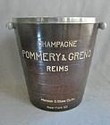 French Deco Bakelite Champagne Bucket - Pommery & Greno - 1930's