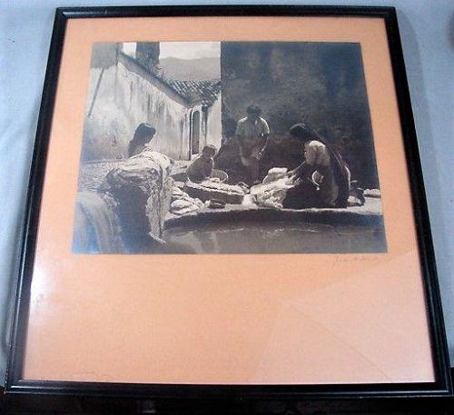 Gordon C. Abbott Silver Gelatin Print -Mexico 1940s -Original Signed