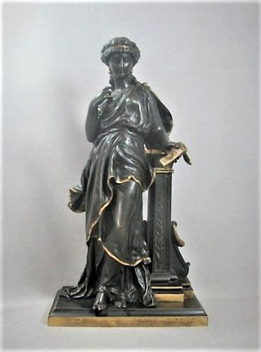 Neoclassical Bronze Sculpture - Moreau - 19th Century