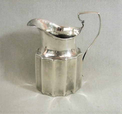 Philadelphia Coin Silver Cream Jug - ca 1800 - Christian Wiltberger