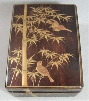 Japanese Gold Lacquer on Wood - Meiji