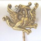 Dragon Stick Pin � 14k Diamond � Game of Thrones