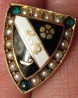 Kappa Phi Sorority Pin in 14k Gold - 1932