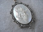 Mother-of-Pearl Cherub Pendant