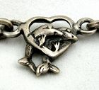 Dolphins and Hearts Bracelet