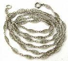Sterling Edwardian Fancy Link Chain