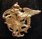 Golden Gryphon pin