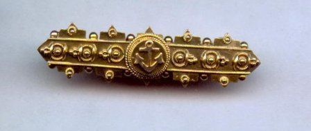 Etruscan Revival Pin