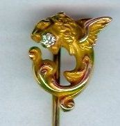 Alling Dragon Stickpin