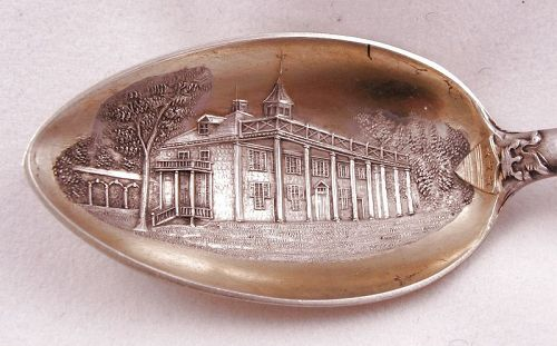 George Washington Masonic Spoon � Gold and Sterling
