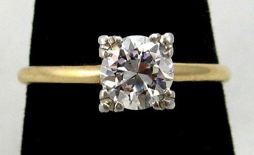 Diamond Engagement Ring - Art Deco