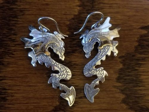 Silver Dragons for Your Ears