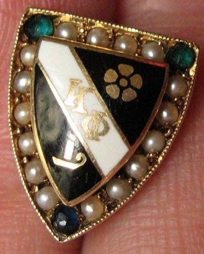 Kappa Phi Sorority Pin 14k Gold - 1932