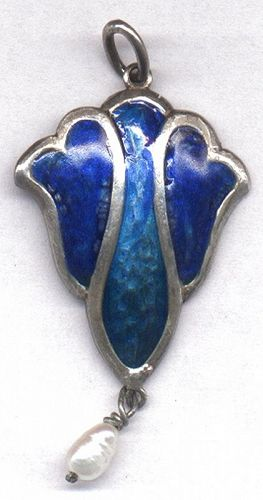 Enamel Pendant � Double Sided Enamel � Arts & Crafts