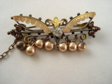Ornate Victorian Pin