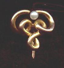 Art Nouveau Stickpin