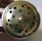 Green Glass & Stars Sugar Shaker - England