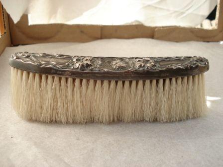 Art Nouveau Clothes Brush