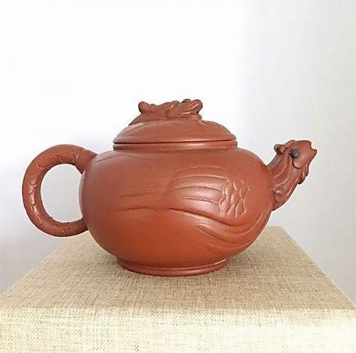 Fine Vintage Chinese Yixing Zisha Teapot
