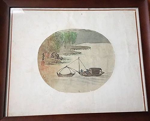 Fine Vintage Chinese Water Color Painting