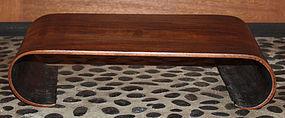 Chinese Qing Republic Hardwood Scroll-form Stand Xiaoji