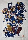 Large Japanese Ltd. Ed. Kappa-ban Print Yoshitoshi Mori Tradesmen