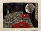 Japanese Woodblock Print Kiyoshi Saito Toriemoto Kyoto
