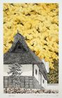 Japanese Ltd. Ed. Etching Aquatint Tanaka Ryohei Ginkyo Tree Koshihata