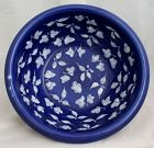 Chinese Qing Dynasty Porcelain Cobalt White Basin Cafe-au-lait Glaze