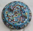 Chinese Cloisonne Enamel Round Form Lidded Box