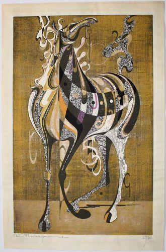 Japanese Oversized Ltd. Ed. Tadashi Nakayama Armored Horse (A)