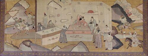 Chinese Qing Silk Kesi Panel Romance Three Kingdoms Warriors Horseback