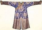 Chinese Qing Silk Summer Gauze 9 Dragon 5-claw Robe