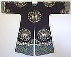 Rare Chinese Qing Lady's Kesi Gauze Summer Surcoat Robe