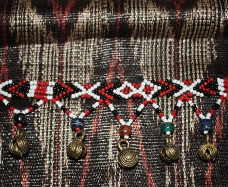 Philippine T'nalak Bark Cloth Woven Textile Hanging