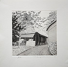 Japanese Ltd. Ed. Etching Tanaka Ryohei Path in ANOH 2